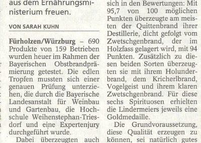 """Freisinger Tagblatt"" Wochenendausgabe 9./10. Juli 2016"