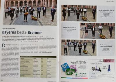 Bayerischer Staatsehrenpreis 2020